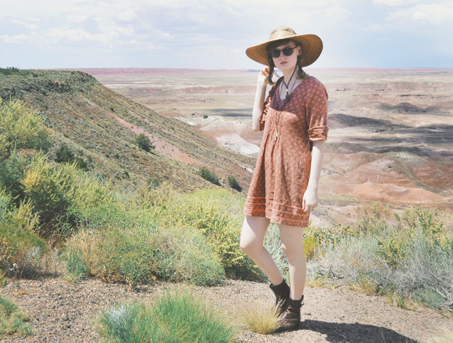 The Flying Clubhouse: Painted Desert - outfit