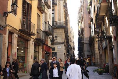 Carrer de la Llibreteria in Barcelona