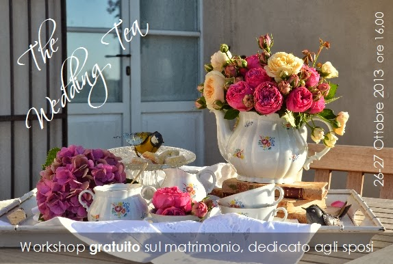 the wedding tea - 26/27 ottobre ore 16