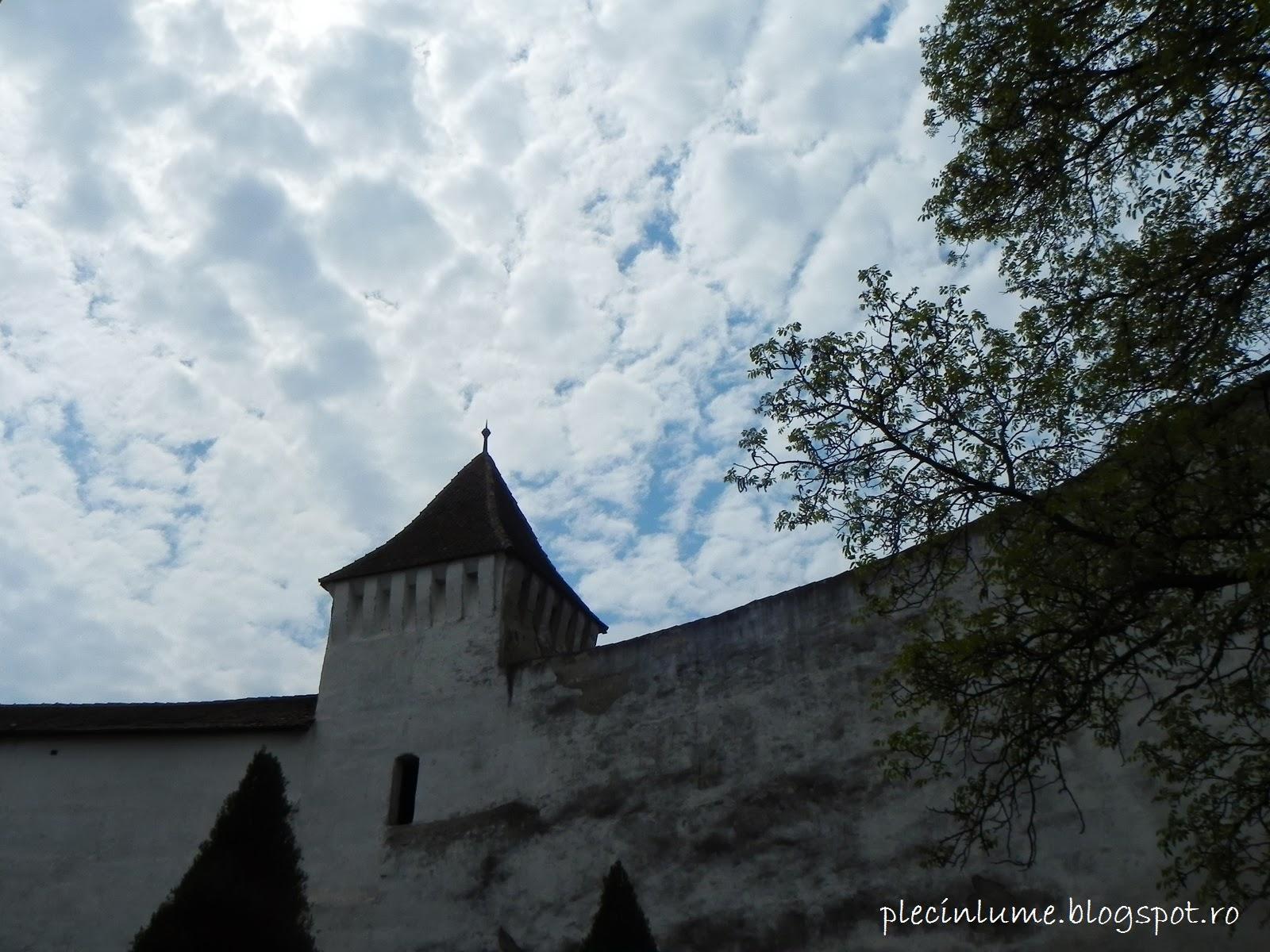 Zidul de aparare al bisericii din Harman