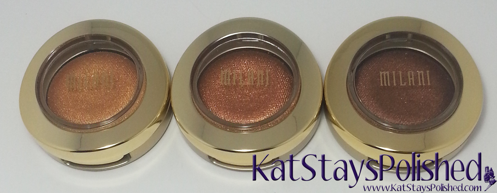Milani Bella Eyes Gel Powder Eye Shadow - Gold - Copper - Bronze | Kat Stays Polished