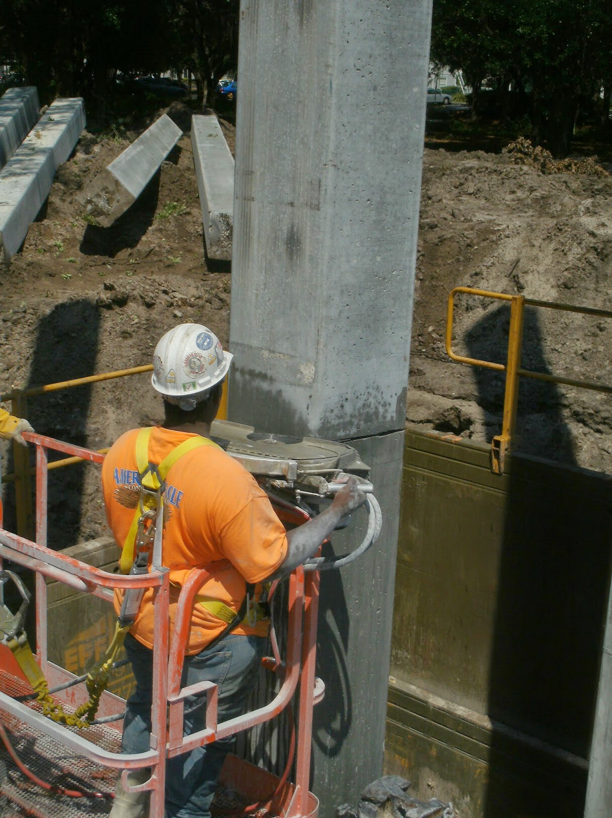 Concrete Hand Sawing in Orlando, Florida