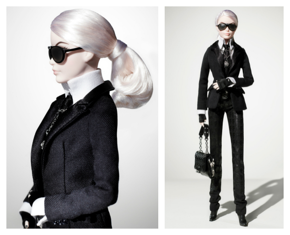 Barbie Doll Karl Lagerfeld