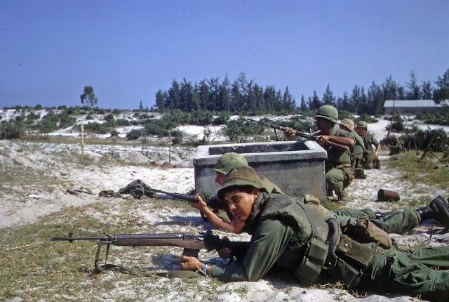 Marines in Hamo Village
