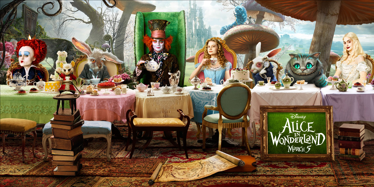 ISFA Book And Film Reviews Alice In Wonderland