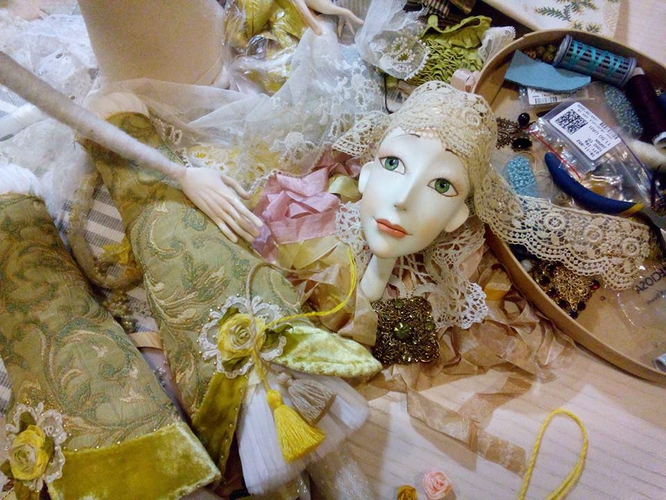 Кукла doll мастер класс