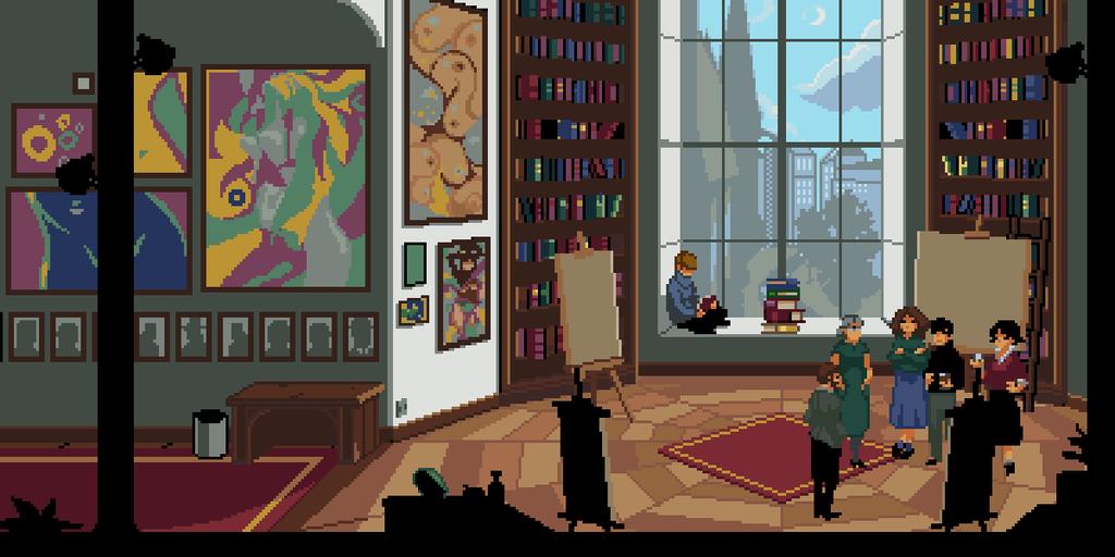 Captura de uno de los juegos creados durante la jam.
