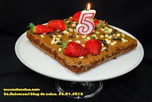 Es el nostre 5é. Aniversari de blog, Moltes gràcies a tot@s