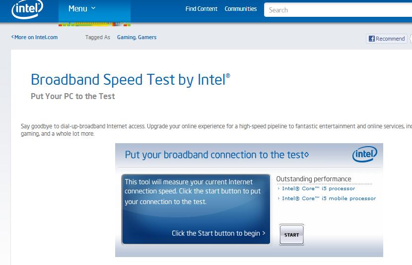Best Home Broadband Speed