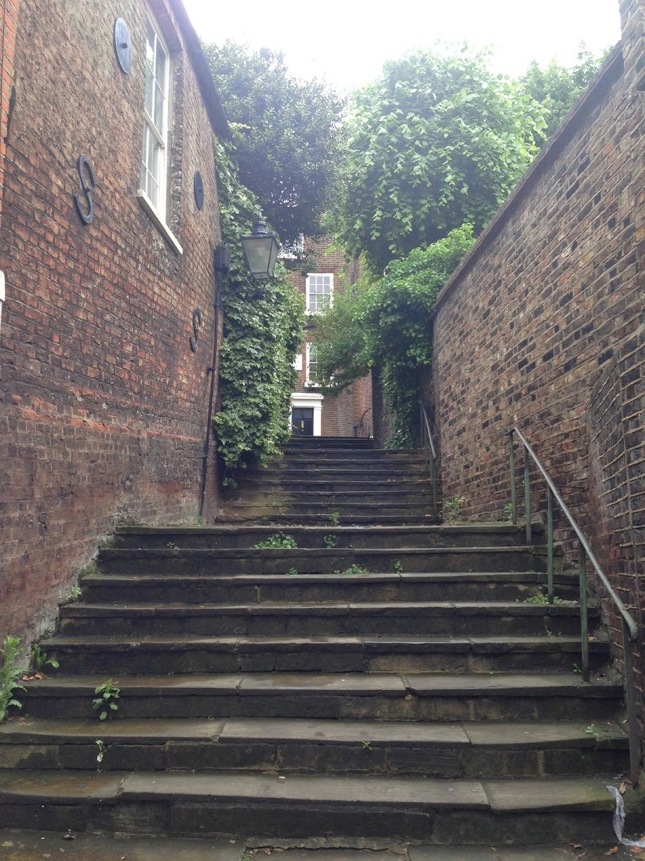 Flight of Stairs, Hampstead, London NW3