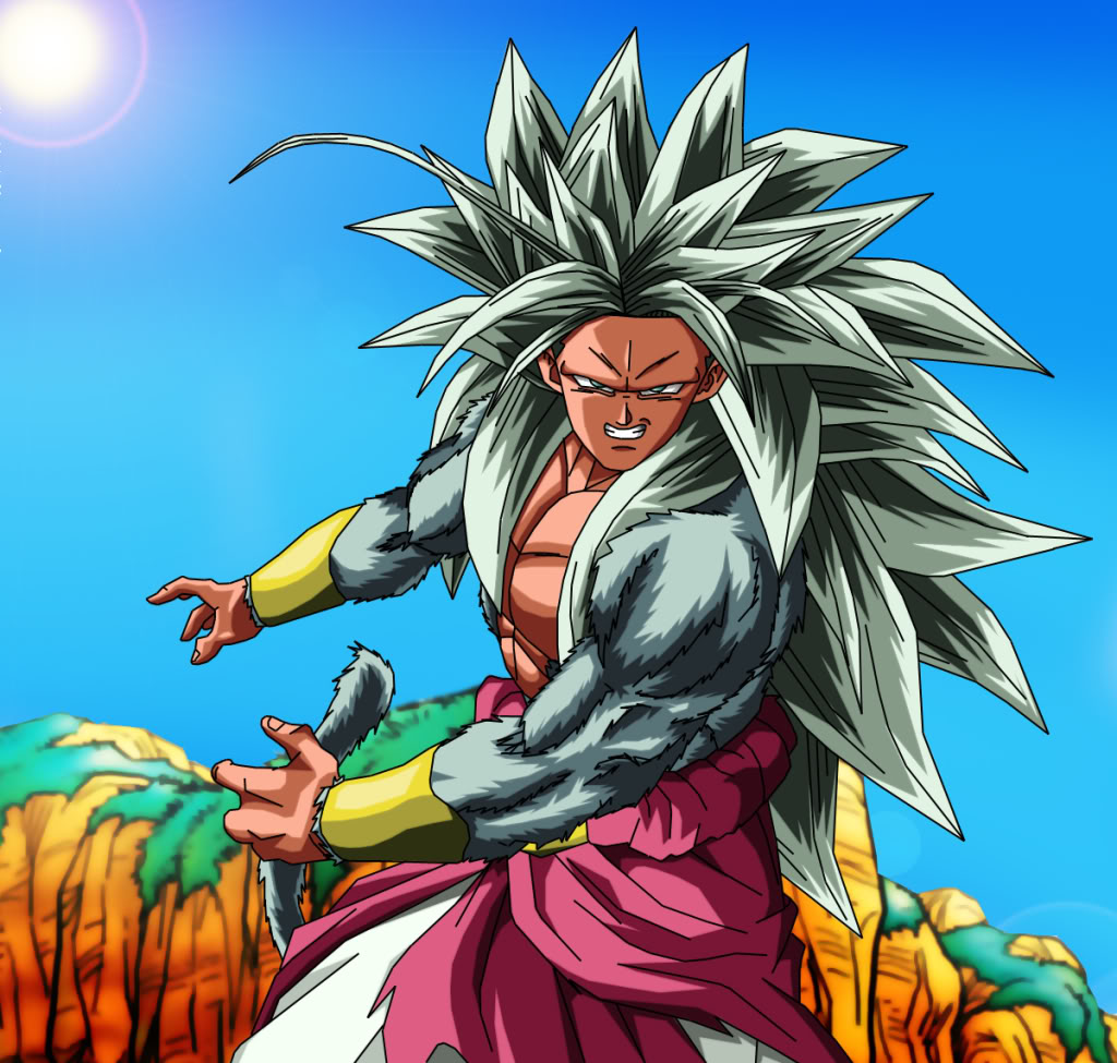 Dragon ball z wallpapers broly super saiyan 5 - Goku 5 super saiyan ...