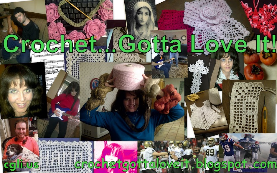 Crochet...Gotta Love It! Blog