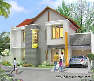 Desain Rumah Mewah 2 Lantai dan 1 Lantai