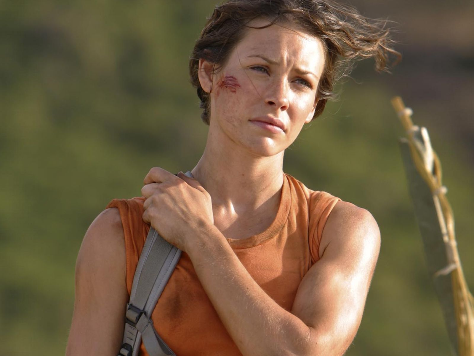 evangeline lilly with both - photo #13