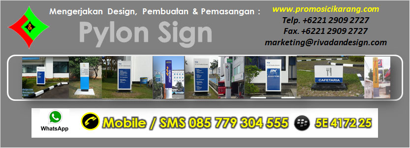 Jasa Pemasangan Pylon Sign