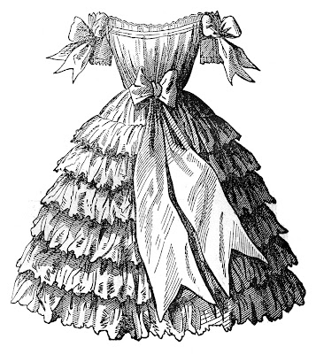 Victorian Fashion - Children's Party Dresses - Godey's Ladies