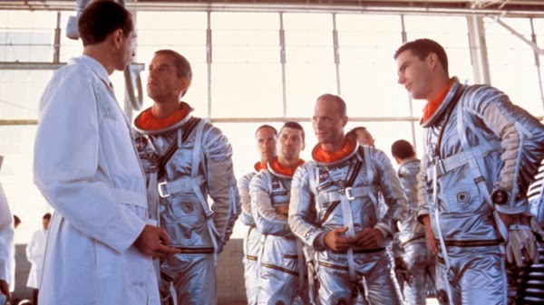Astronauts and scientists in The Right Stuff