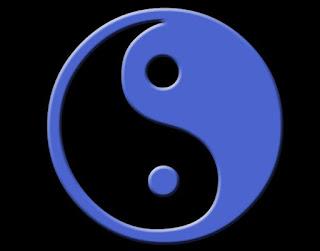 Yin Yang Azul