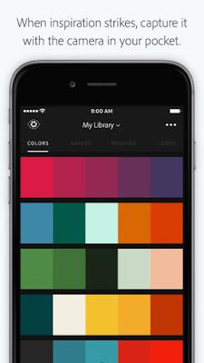 Adobe Capture CC تطبيق مجاني من أدوبي للإلتقاط وتحرير وتحسين الصور للأندرويد والآيفون