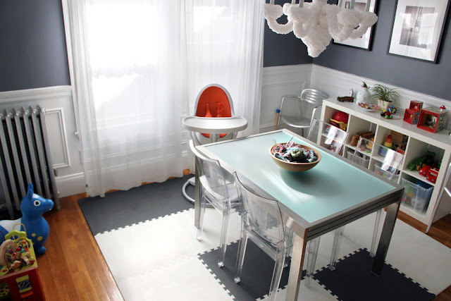 Project little smith house tour dining play room - Dining room play ...