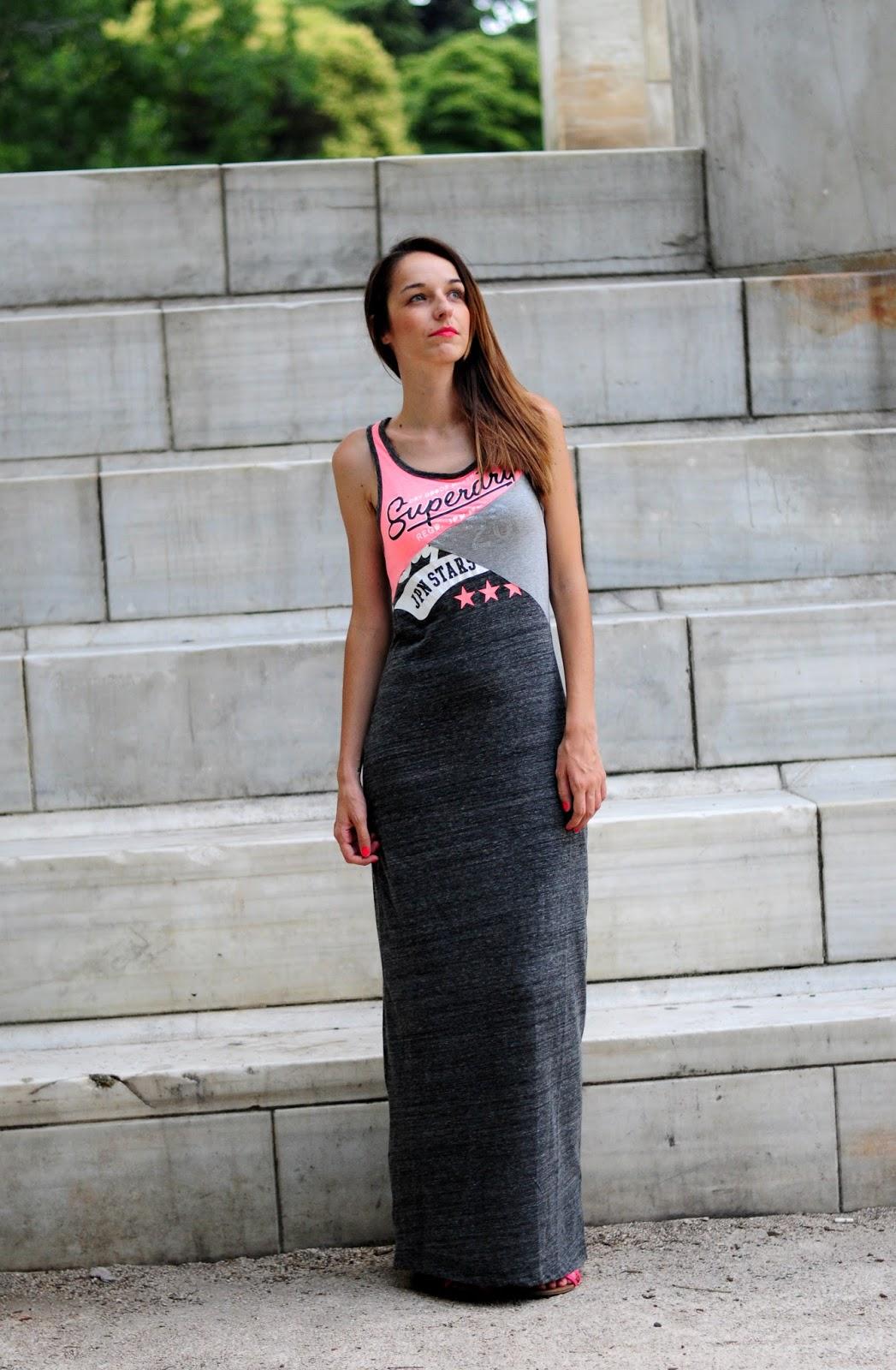 vestidos informales largos 2016