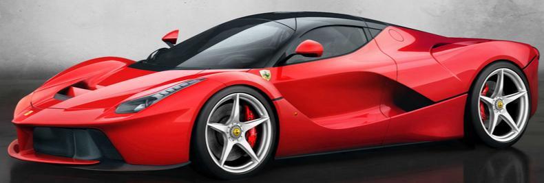 Charming Ferrari LaFerrari Hybrid Has Over 960 Horsepower