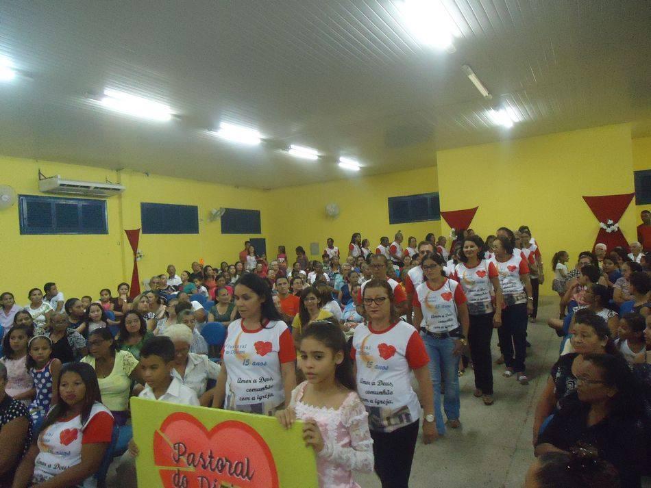 FESTA DE 15 ANOS DA PASTORAL DO DÍZIMO