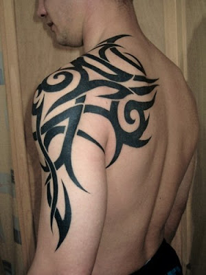 upper arm tribal tattoos for men tattos tattos. Black Bedroom Furniture Sets. Home Design Ideas