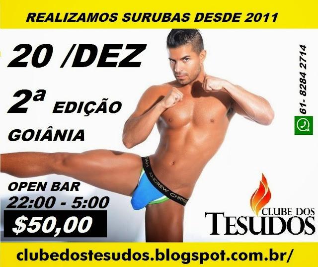 !SURUBA GAY - BALADA C/ TESUDOS SÓ DE CUECA !