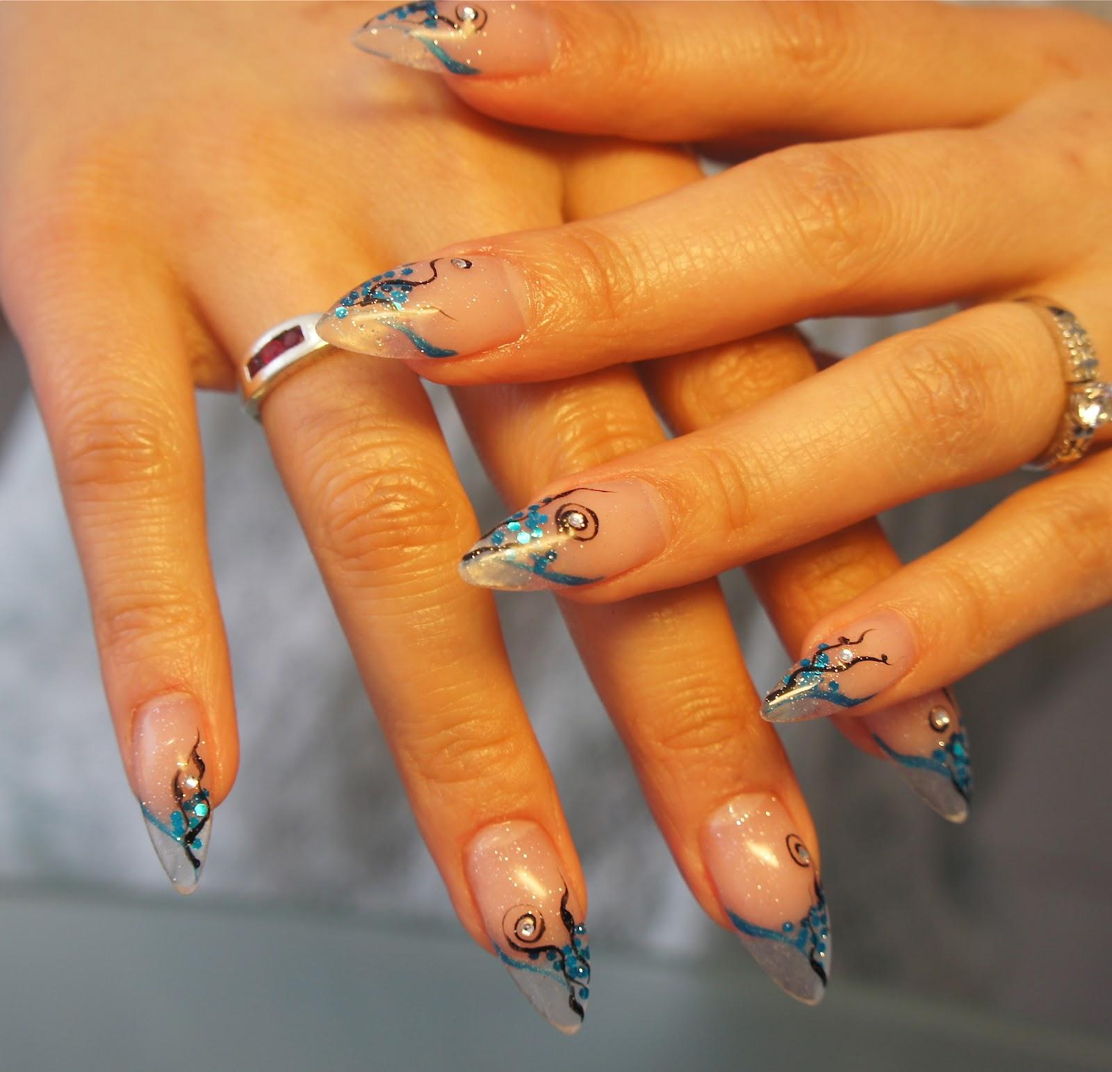 tippar naglar