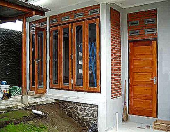 Bentuk Model Jendela Rumah Minimalis Yang Sedang Musim  iDea