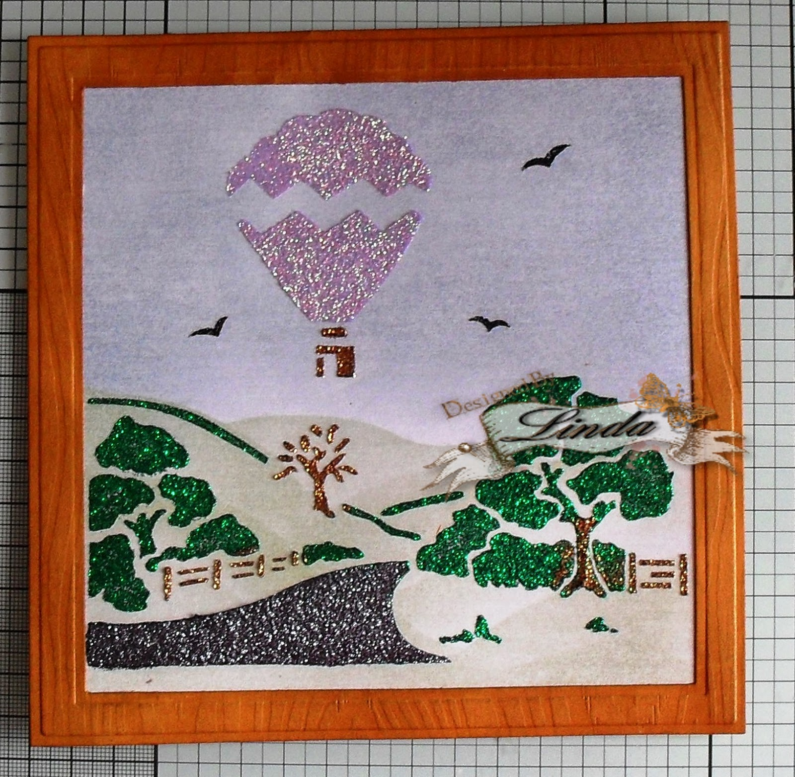 Cheap Frames From The Craft Store And Imagination: Imagination Crafts: Up, Up And Away