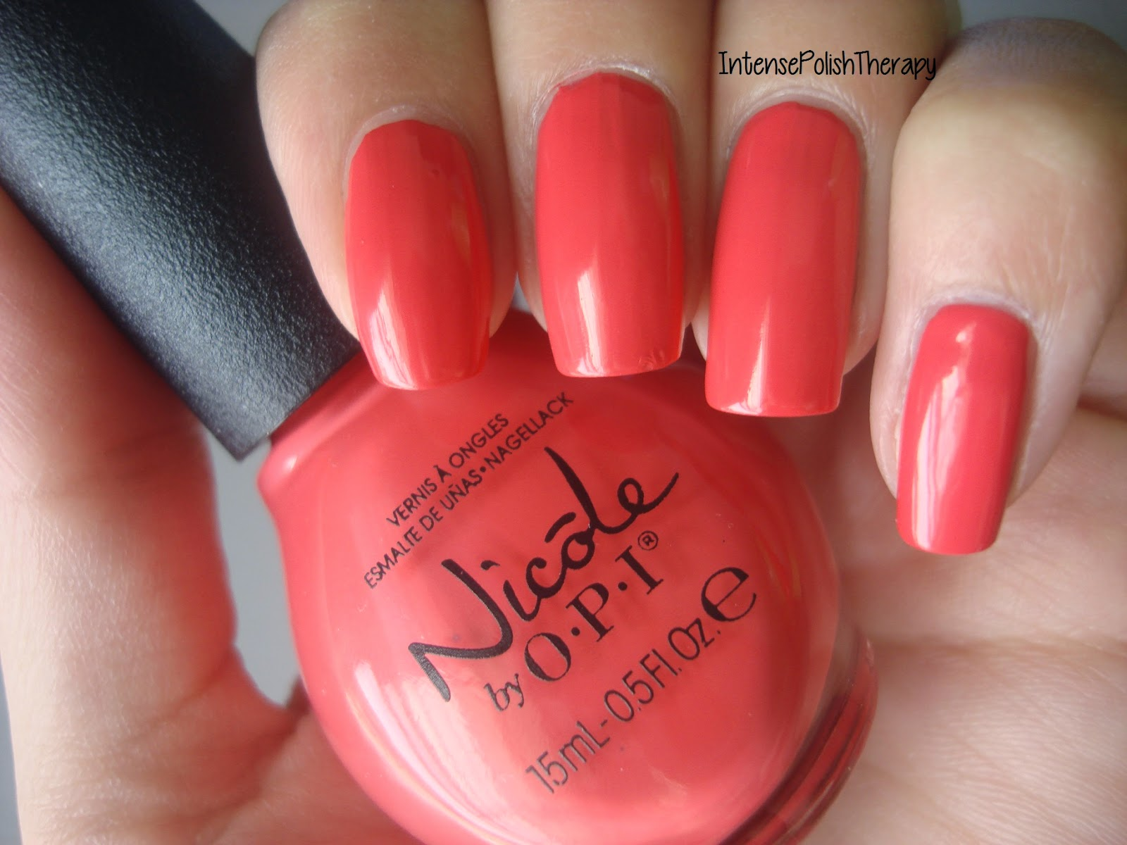 Nicole by OPI - The Coral of the Story
