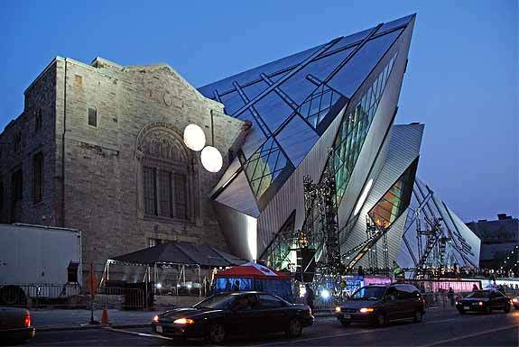 Royal Ontario Museum, Canada, museum, architecture, awesome, weird, cool, design, crazy, building