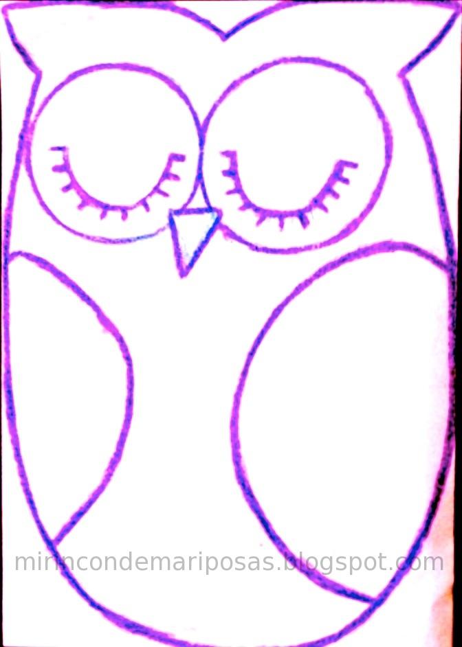 mi rincón de mariposas: Cobertor para portabebés: el búho (con patrón)