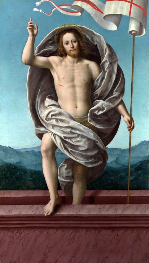 Gaudenzio Ferrari - Christ rising from the Tomb