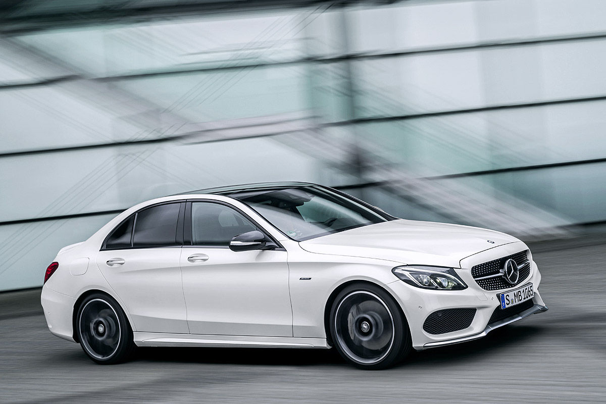 new mercedes c450 amg sport slots under c63 amg with 362hp carscoops. Black Bedroom Furniture Sets. Home Design Ideas