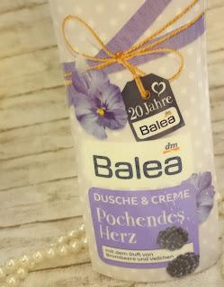 Review Balea Dusche & Creme - Pochendes Herz