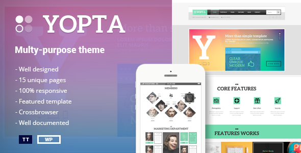 download yopta themeforest