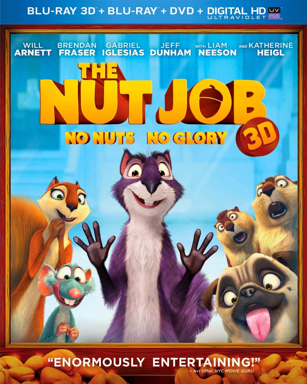 Congrats Steve W.--You've WON The Nut Job Blu-ray Combo Pack