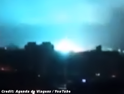 UFO Turns Night into Day (Brazil) 10-15-14