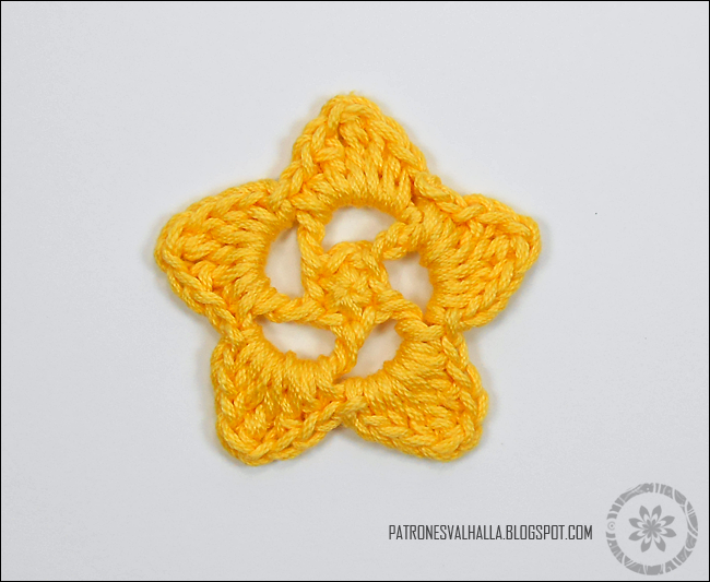 How To Crochet A Star 3 Patrones Valhalla Free Crochet Patterns