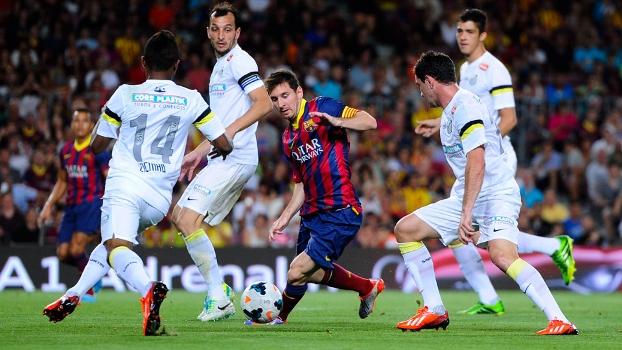 Santos, Messi e Barcelona