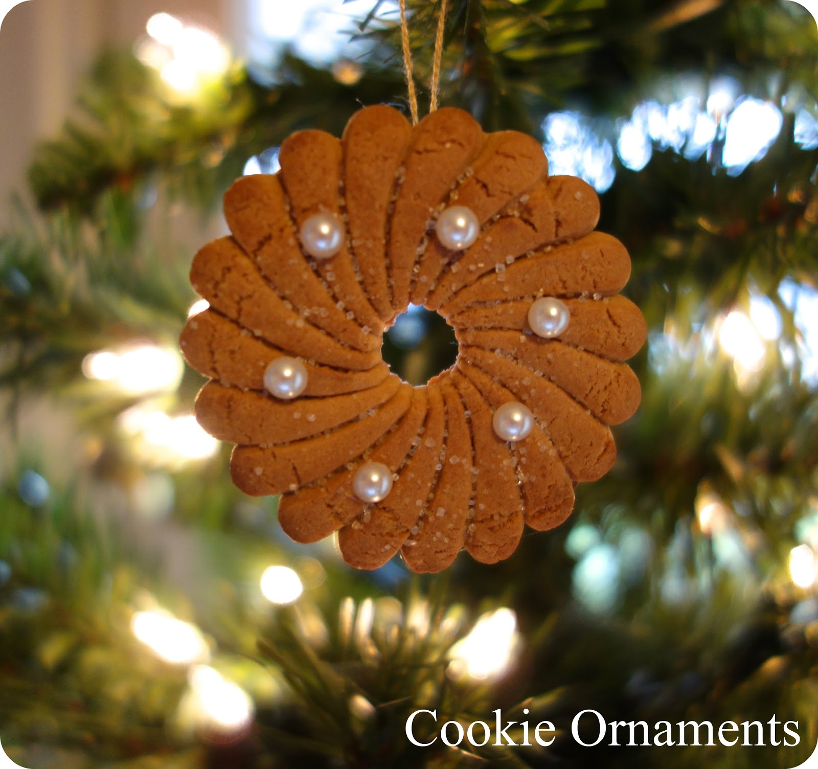 Cousin ornaments - Dollar Store Cookie Ornaments