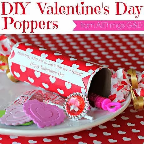easy diy valentine poppers made from toilet paper rolls!