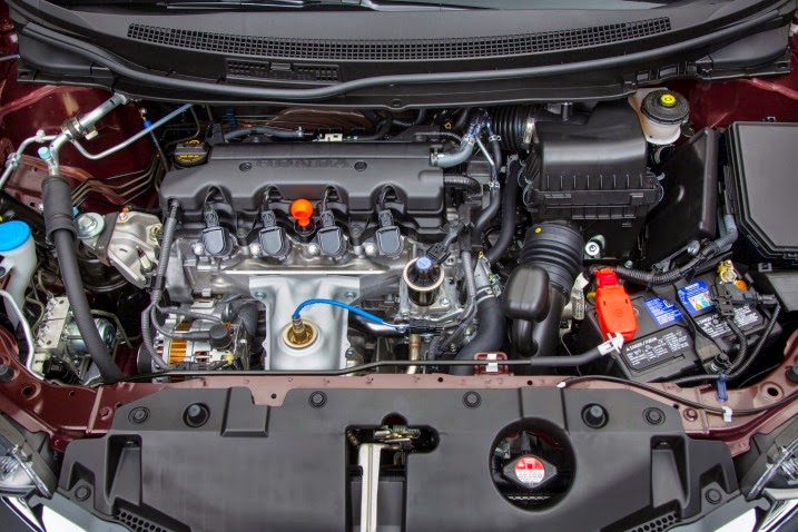 2016 Honda Civic Si Engine