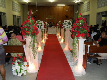 Decoração da Igreja em Alto da Mina