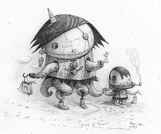 Destacado. Ilustración, pintura y talento de Shaun Tan