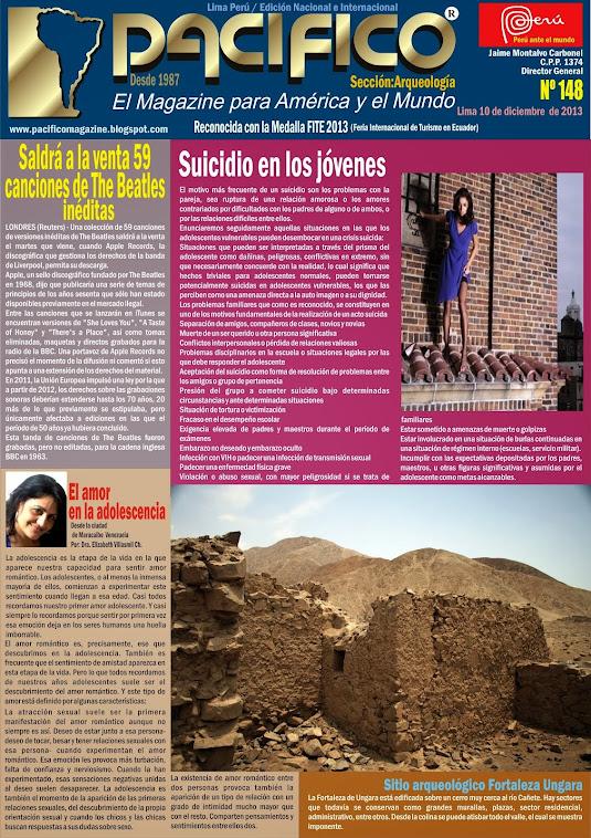 Revista Pacífico Nº 148 Arqueología
