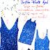 Aonde Comprar: Vestido de Paetê Azul